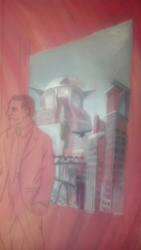 Metropolis Under Painting
