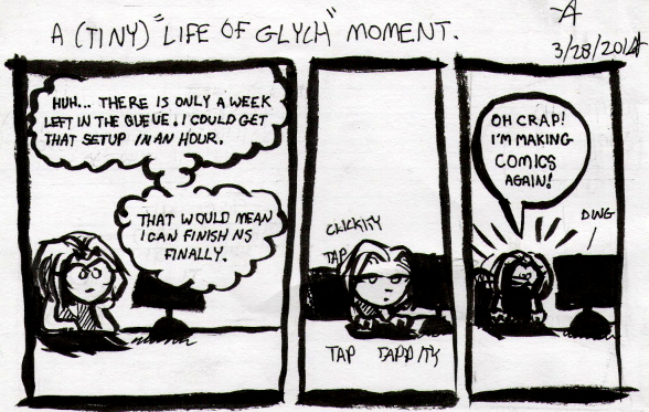 Tiny Life of Glych #1